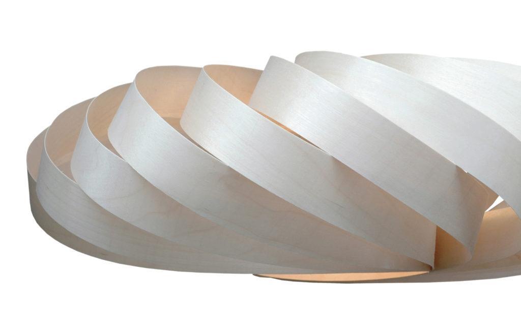 Taipuisa KoskiFlex ohutviiluvaneri sopii laserleikkaukseen ja tulostusmateriaaliksi.