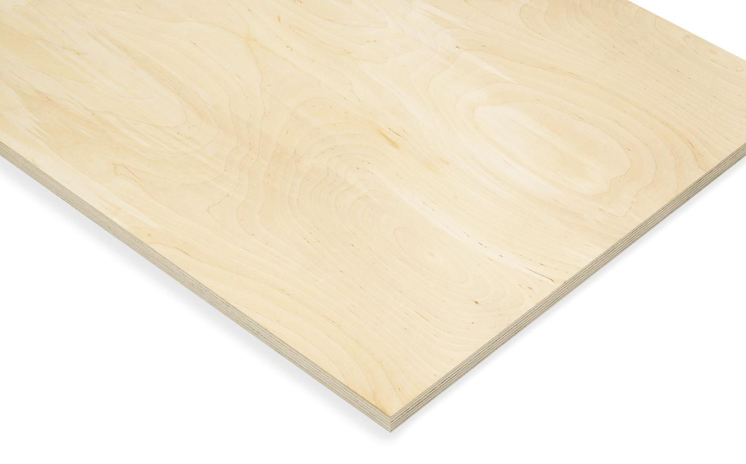 KoskiStandard uncoated Finnish birch plywood for multiple use.