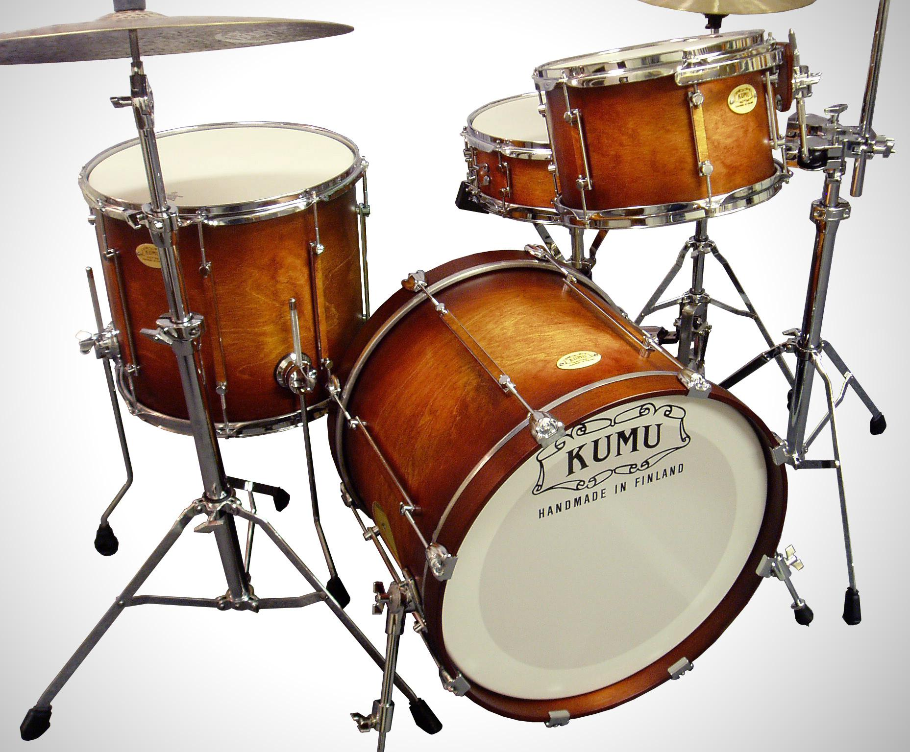 KoskiPly Birch is used for high quality Kumu drums.