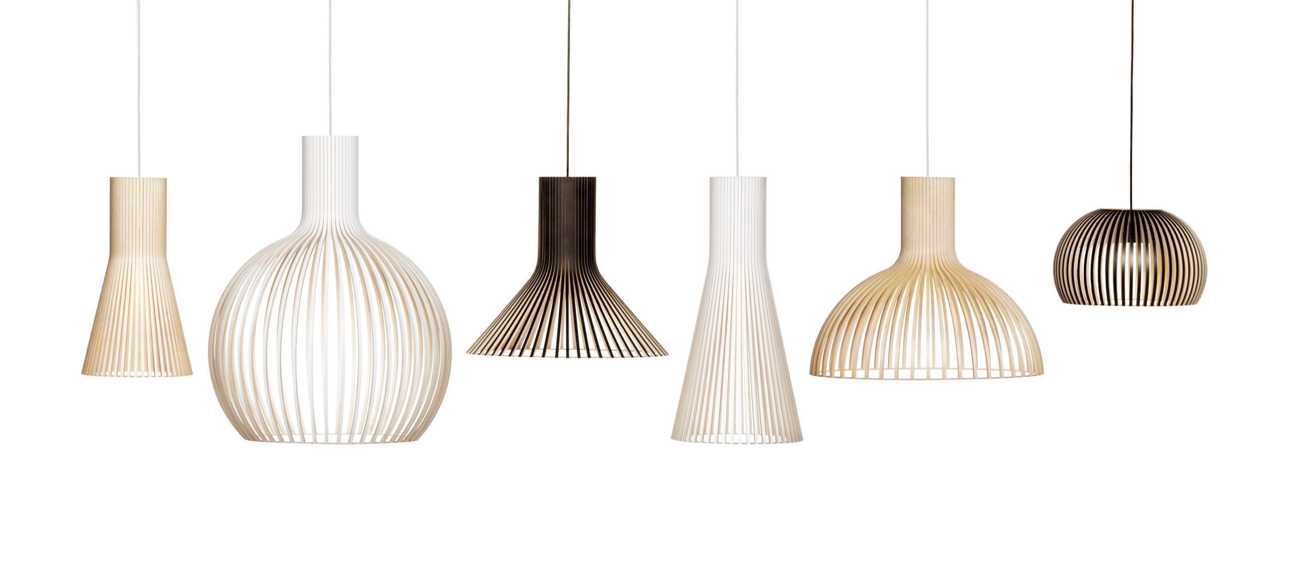 Secto Design lamp made of Koskisen thin plywood